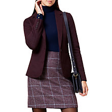 Buy Hobbs Joella Jacket, Mulberry Online at johnlewis.com