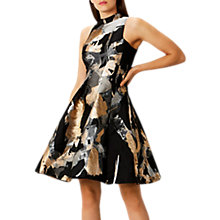 Buy Coast Juno Jacquard Dress, Multi Online at johnlewis.com