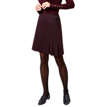Buy Hobbs Joella Kilt, Mulberry Online at johnlewis.com