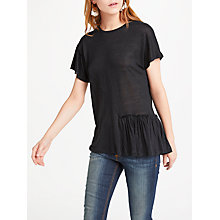 Buy AND/OR Carol Frill Top Online at johnlewis.com