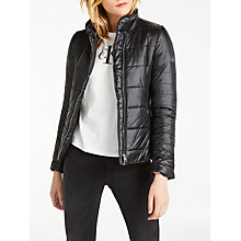 Buy Calvin Klein Lightweight Padded Jacket, Black Online at johnlewis.com