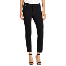 Buy Lauren Ralph Lauren Stanyslav Skinny Trousers, Black Online at johnlewis.com