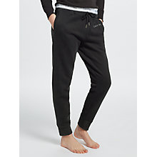 Buy Calvin Klein Pele Icon Logo Sweatpants, Black Online at johnlewis.com