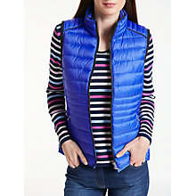 Buy Gerry Weber Padded Gilet, Electric Blue Online at johnlewis.com