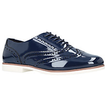 Buy Carvela Miller Lace Up Brogues, Navy Online at johnlewis.com