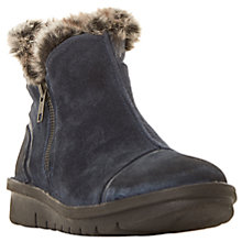 Buy Dune Ponti Faux Fur Lined Ankle Boots Online at johnlewis.com