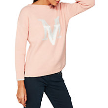 Buy Mint Velvet Granite Graphic Boxy Knit Jumper Online at johnlewis.com