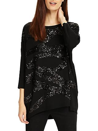 c378db9bc92b9 Phase Eight Rachelle Rope Sequin Knit Jumper