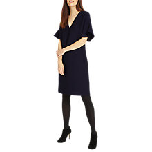Buy Phase Eight Vivian Textured Tunic Dress, Navy Online at johnlewis.com