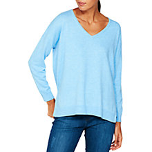Buy Mint Velvet V-Neck Boxy Jumper Online at johnlewis.com