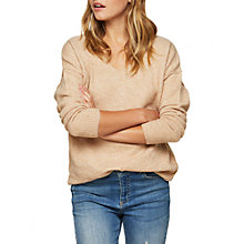 Buy Miss Selfridge Whipstitch Back Jumper Online at johnlewis.com