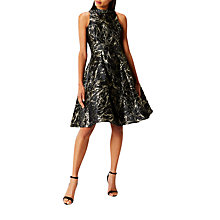 Buy Coast Venus Marble Jacquard Dress, Multi Online at johnlewis.com