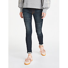 Buy AND/OR Abbot Kinney Patch Skinny Jeans, Rock On Online at johnlewis.com