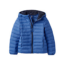 Buy Little Joule Boys' Cairn Padded Jacket, Blue Online at johnlewis.com