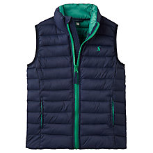 Buy Little Joule Boys' Crofton Pack Away Gilet, Navy Online at johnlewis.com