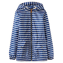 Buy Little Joule Boys' Rowan Waterproof Jacket, Navy Online at johnlewis.com