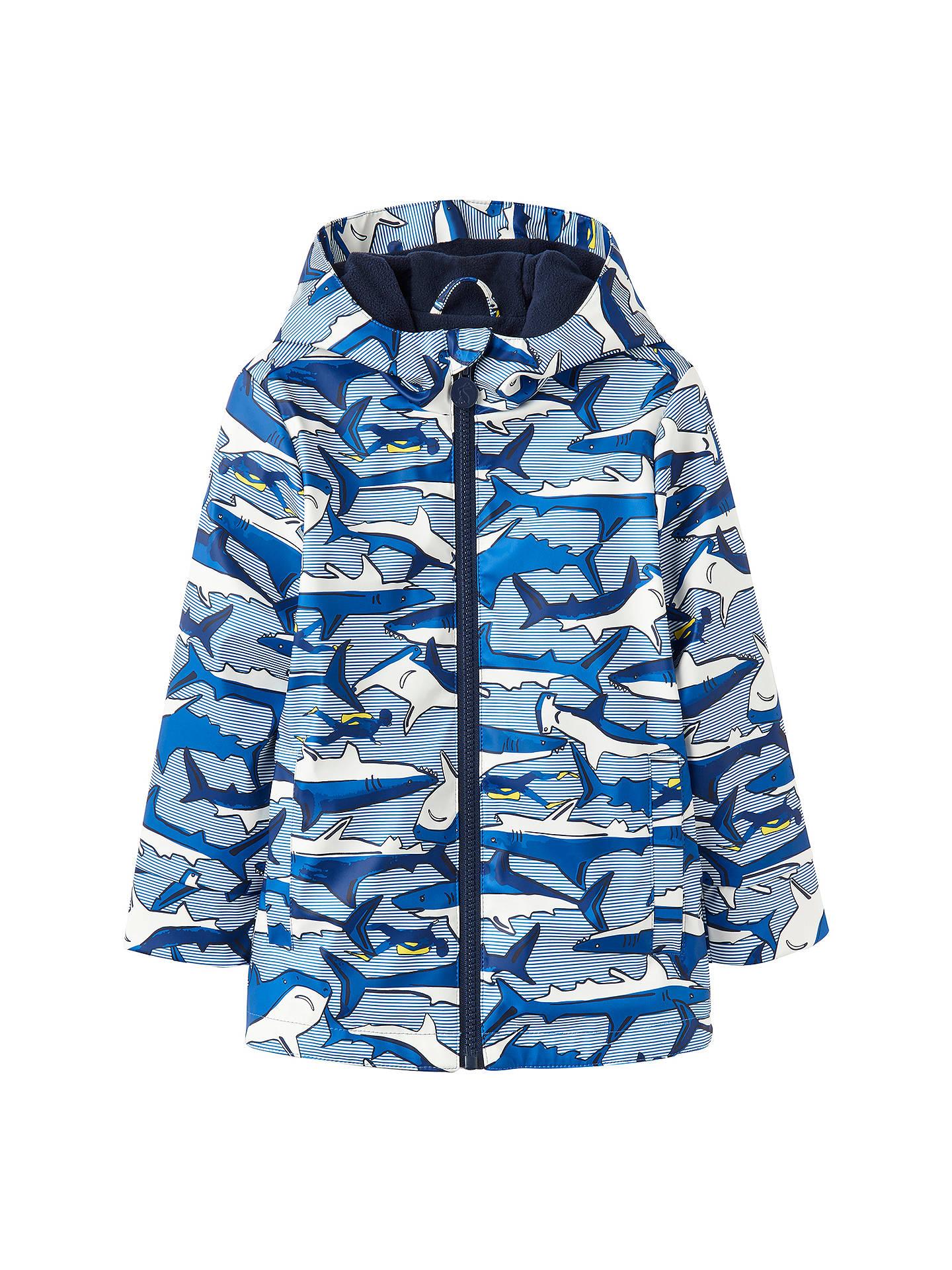 344152622dec Little Joule Boys  Shark Skipper Coat