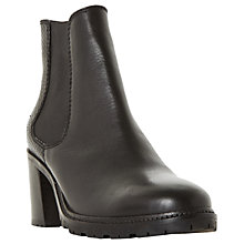 Buy Dune Pembridge Block Heeled Ankle Chelsea Boots Online at johnlewis.com