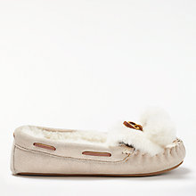 Buy Boden Moccasin Pom Pom Slippers Online at johnlewis.com
