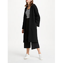 Buy PATTERNITY + John Lewis Longline Sweater Cotton Cardigan, Black Online at johnlewis.com