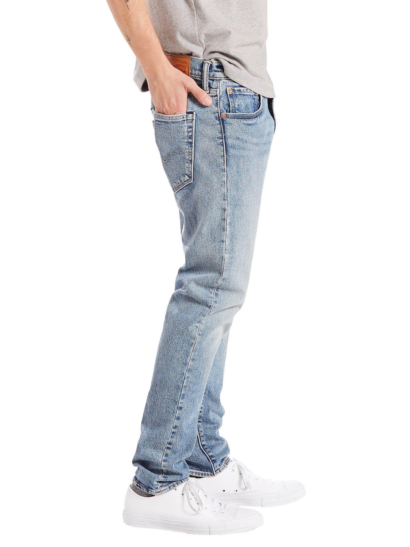 4408bb76673 ... Buy Levi's 512 Slim Tapered Jeans, Rolf, 30S Online at johnlewis.com