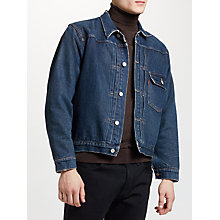 Buy Levi's Vintage 1936 Type 1 Lined Denim Jacket, Western Frontier Online at johnlewis.com