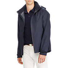 Buy Polo Ralph Lauren Repel Waterproof Hooded Jacket, College Navy Online at johnlewis.com
