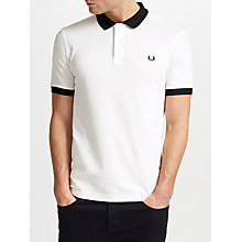 Buy Fred Perry Matt Tipped Collar Polo Shirt Online at johnlewis.com