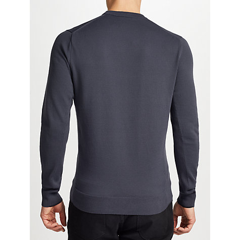 Buy Fred Perry Twin Tipped Crew Neck Jumper Online at johnlewis.com