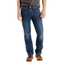 Buy Levi's 501 Original Straight Jeans, Mowkawk Warp Online at johnlewis.com