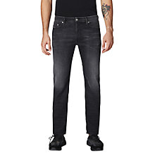 Buy Diesel Waykee Straight Jeans, J687, Grey Online at johnlewis.com