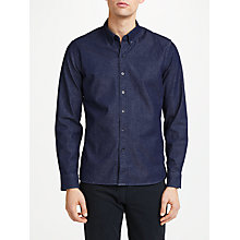 Buy Levi's Pacific No Pocket Shirt, Stretch Denim Rinse Online at johnlewis.com