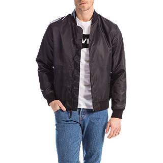 Levi's Lyon Shell Bomber Jacket, Black
