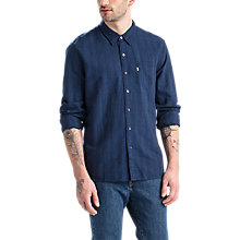 Buy Levi's Sunset 1 Pocket Shirt, Indigo Online at johnlewis.com