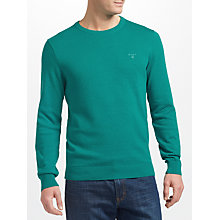 Buy Gant Cotton Texture Jumper Online at johnlewis.com