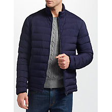 Buy GANT Airie Down Jacket, Navy Online at johnlewis.com