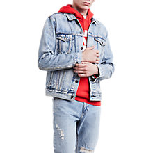 Buy Levi's The Trucker Jacket, Rolled Up Dollar Trucker Online at johnlewis.com