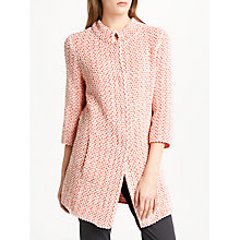Buy Marc Cain Boucle Jacket, Flame Online at johnlewis.com