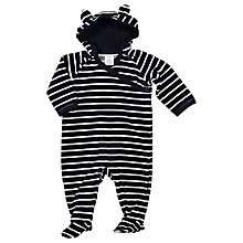 Buy Polarn O. Pyret Baby Rabbit Ears Sleepsuit Online at johnlewis.com