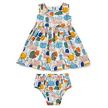 Buy John Lewis Baby Jungle Print Dress and Knickers Set, Multi Online at johnlewis.com