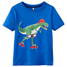 Buy Little Joule Boys' Ray Dinosaur T-Shirt, Blue Online at johnlewis.com