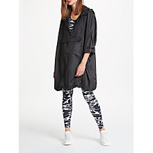 Buy PATTERNITY + John Lewis Signature Print Pac-A-Mac, Black Online at johnlewis.com