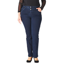 Buy ADIA Monaco Super Stretch Jeans, Blue Velvet Online at johnlewis.com