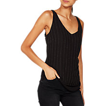 Buy Mint Velvet Beaded Camisole, Black Online at johnlewis.com