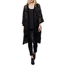 Buy East Devore Yamiko Kimono, Black Online at johnlewis.com