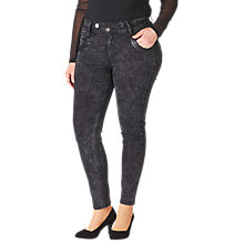 Buy ADIA Lucca Skinny Jeans, Black Sky Online at johnlewis.com