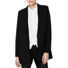 Buy Mint Velvet Oversized Premium Blazer, Black Online at johnlewis.com