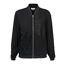 Buy East Yokahama Embroidered Jacket, Black Online at johnlewis.com
