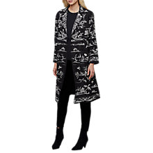 Buy East Pogoda Embroidered Jacket, Black Online at johnlewis.com