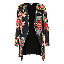 Buy East Shanghai Print Pleat Jacket, Black/Multi Online at johnlewis.com